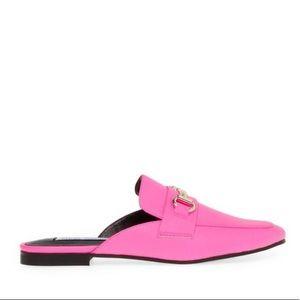 STEVE MADDEN KACY NEON PINK shoes